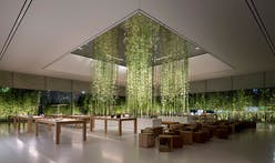 """Foster + Partners designs Apple's new Cotai Central store, an urban """"oasis of tranquility"""" in bustling Macau"""