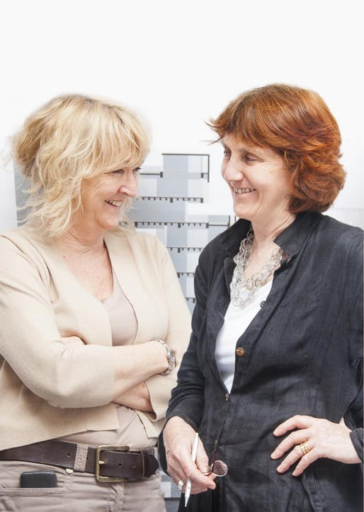 Yvonne Farrell and Shelley McNamara of Grafton Architects have been named as the 2020 Pritzker Architecture Prize winners. Image courtesy of Pritzker Prize Foundation.