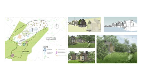 tiny houses/residential buildings/ multifunctional complex