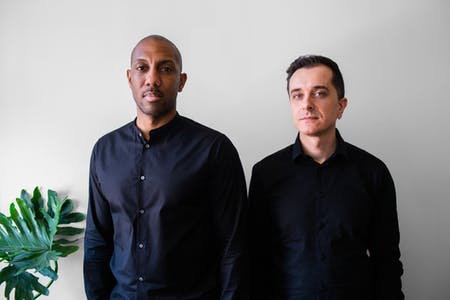 Nick Roseboro and Alessandro Orsini, co-founders of Architensions. Photo by Aslan Chalom.