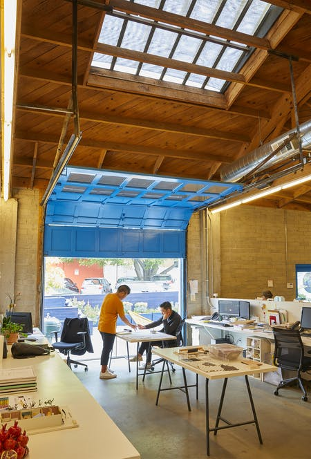 Bestor Architecture's staff at work, from Archinect's Studio Visits: Bestor Architecture feature. Photo courtesy of Yoshihiro Makino