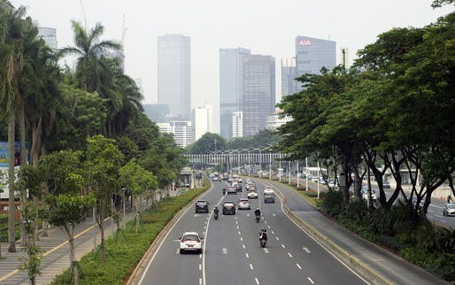 Indonesia's current capital Jakarta. Photo: Sopan Sopian.
