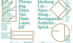 Get Lectured: Syracuse University, Spring '17