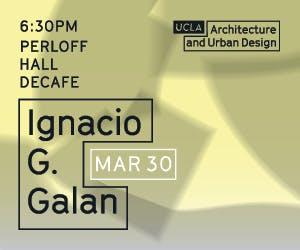 Lecture with Ignacio G. Galán