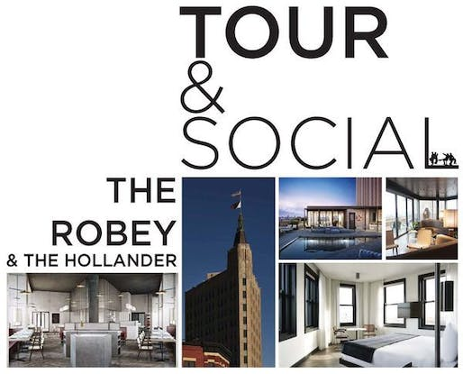 Tour Social The Robey Hotel Second Floor At Cafe