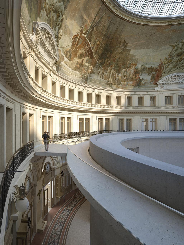 Tadao Ando to design a museum inside a former Paris stock exchange