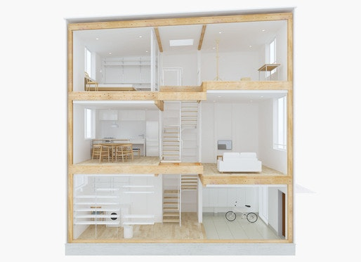 muji isnu0027t entirely new to the prefab house scene the company worked with prominent japanese architects like kengo kuma for the window house in