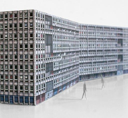 Brutal London Cutout Replicas Commemorate Iconic Brutalist