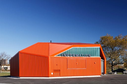 Ten top images on archinect 39 s color pinterest board for College street motors amherst ma