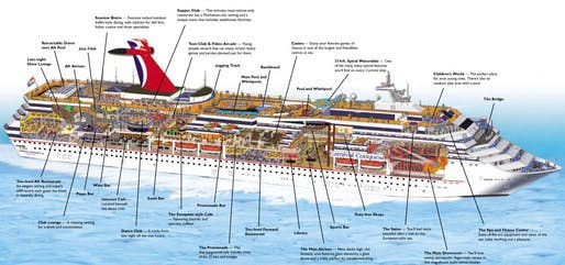 CITIES ON THE MOVE From Archigram To Cruise Ships Blogs Archinect - Cruise ship movie