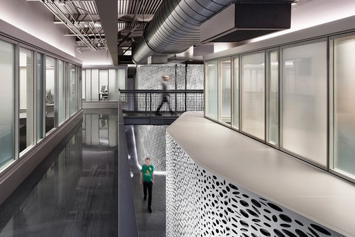 Built Using Free Span Trusses, The New Space Has 23 Foot Ceiling Heights  And No Internal Columns. Pratt Architecture Professor And Artist Haresh  Lalvani ...