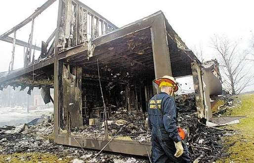 The cause of the fire is still unknown, according to George Slater, the  Kenoza Lake assistant fire chief.