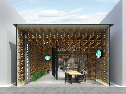 This Will Be The Very First Starbucks Coffee Which Is On Historical Entrance Path To A Shrine Dazaifu Tenman Gu