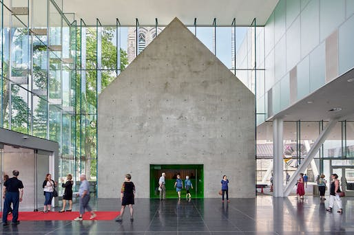 Foyer Museum Quebec : Oma s pierre lassonde pavilion in quebec will finally open