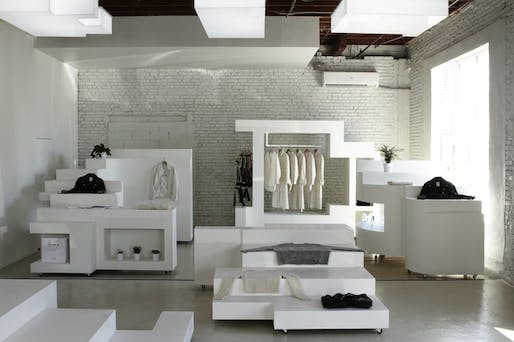 Bureau spectaculars first retail project is now open in l.a.s arts