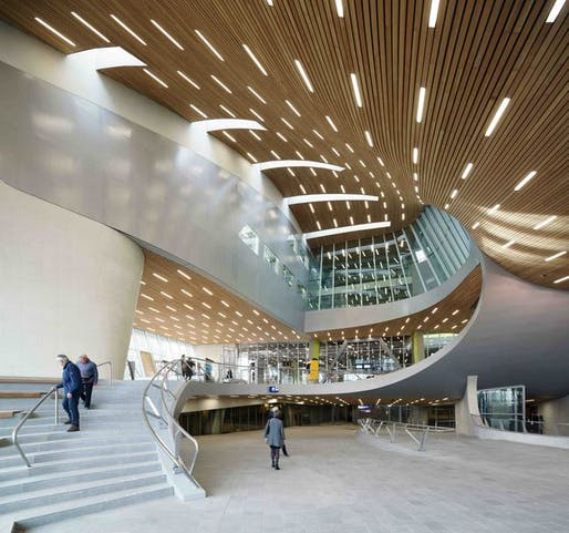 Key Auto Mall >> Preview: UNStudio's new Arnhem Central Station opens ...