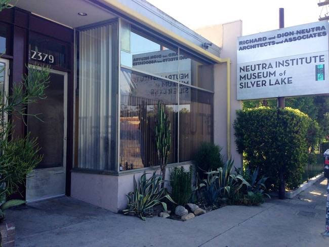 Beau Dions Home Office. Before Being Converted Into An Institute, Richard And  Dion Neutra Architects