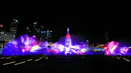 singapore s marina bay sands gets a spiffy state of the art laser
