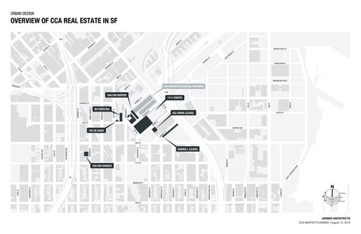 Cca Sf Campus Map.Studio Gang To Design New Unified Campus For The California College