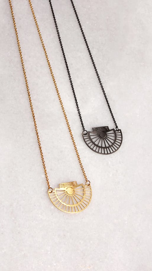 Spruce Up With This Architectural Floor Plan Jewelry By