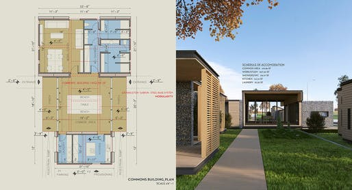 A closer look at riza3\'s low-cost housing plans for the homeless ...
