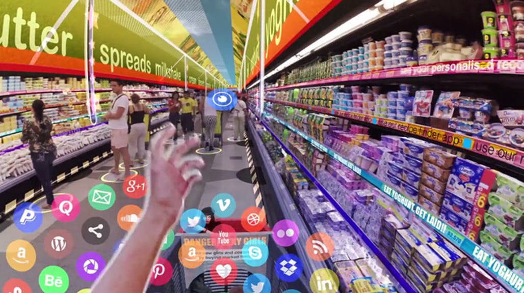 Hyper-Reality: Artist envisions our near-future existence submerged in augmented reality | News ...