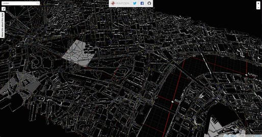 Map Of New York 3d.Animated 3d Data Maps Of New York City Beyond News Archinect