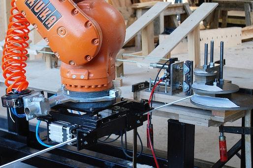 Robotic rod-bending, AA Summer DLAB 2016