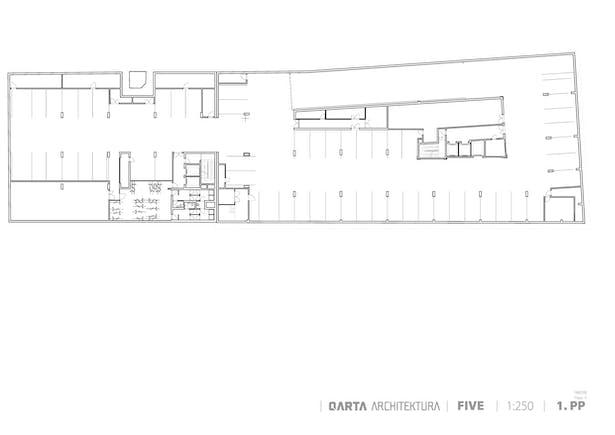 Basement Floor Plan QARTA ARCHITEKTURA