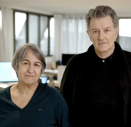 Anne Lacaton and Jean-Philippe Vassal. Photo courtesy of Laurent Chalet.