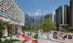 Henning Larsen builds a colorfully sustainable school in urban Hong Kong