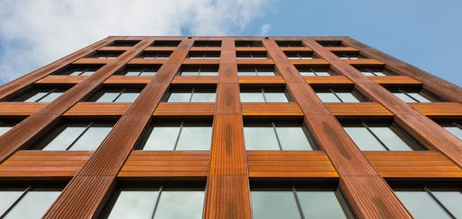 Katerra is developing a catalog of mass timber products. Image: Michael Green Architecture.
