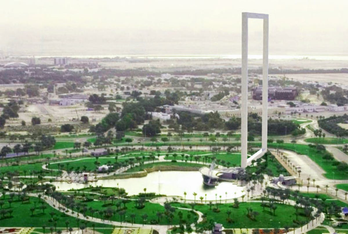 Controversial Dubai Frame to open this month | News | Archinect
