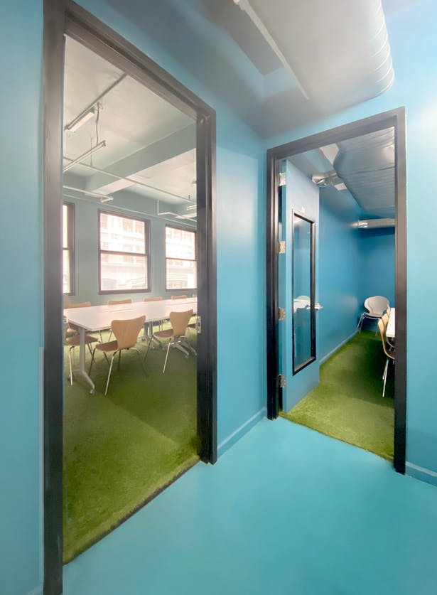 Conference Rooms with Astroturf