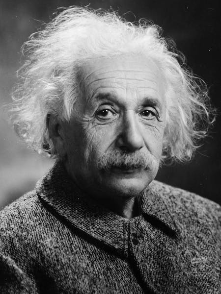Einstein in 1947. Photograph by Orren Jack Turner.