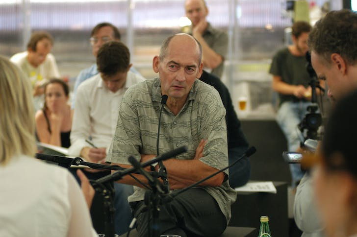 Rem Koolhaas stops being polite, and starts getting real. Image: 準建築人手札網站 Forgemind ArchiMedia via Flickr