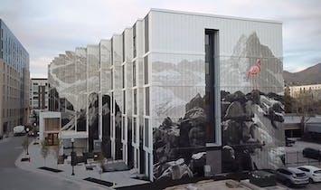 Take a look at this lenticular mural artist Phillip Adams created with EskewDumezRipple in Salt Lake City