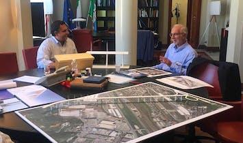 Renzo Piano offers design to replace collapsed Genoa bridge