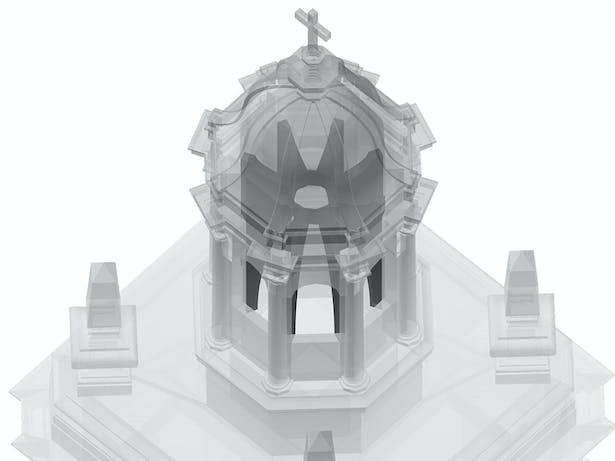 San Roque Chapel Tower - Seismic Renovation (Image: N. Stanton)