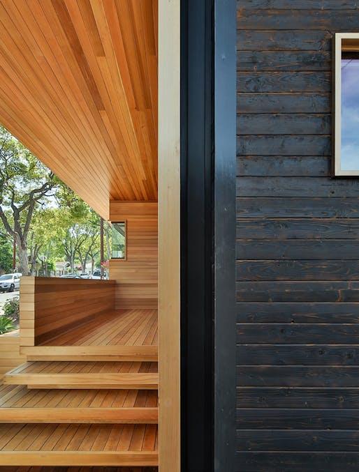 Fenlon House in Los Angeles, CA by Martin Fenlon Architecture; Photo: Zach Lipp