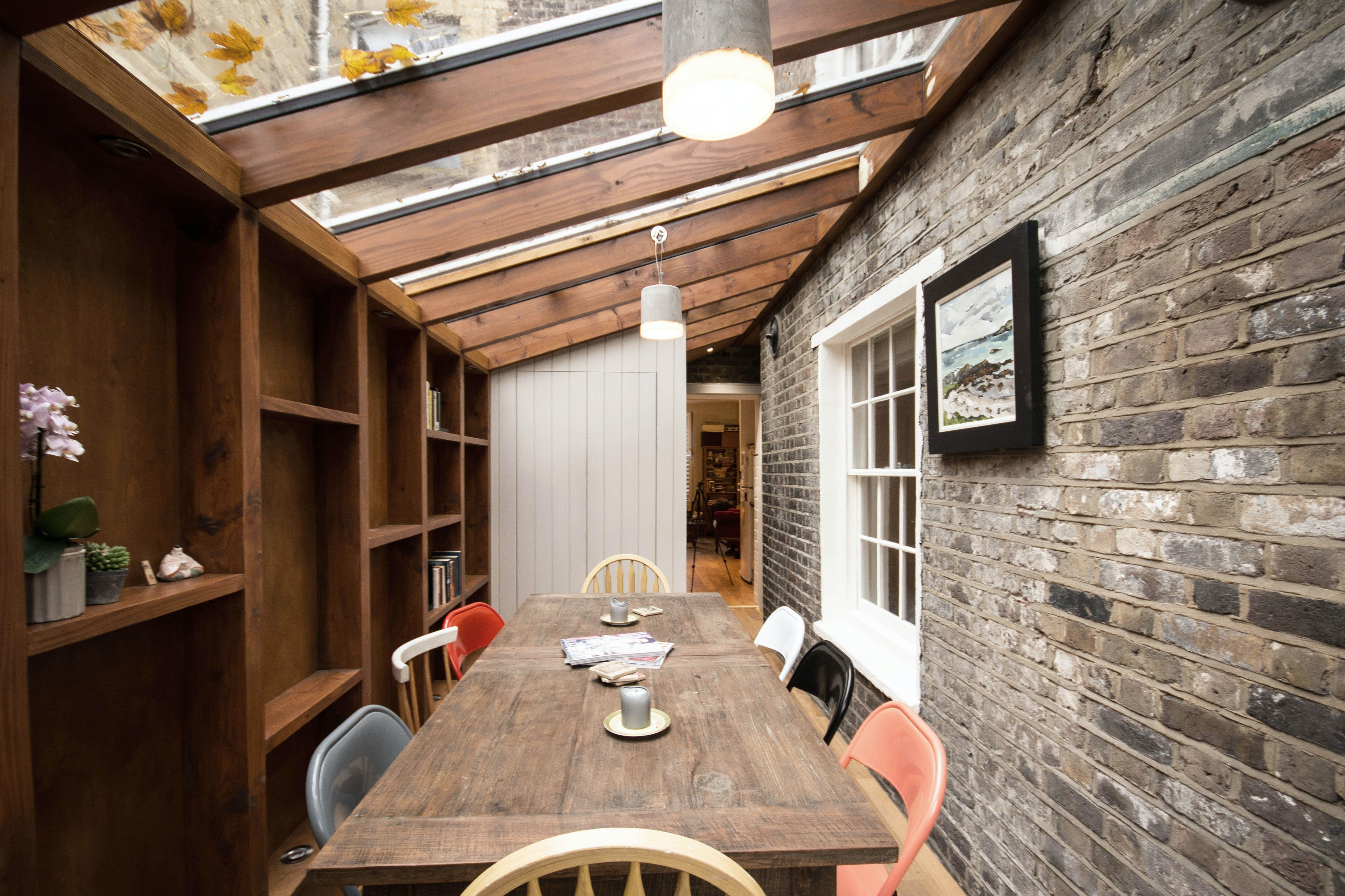 The Timber Frame Extension | YARD Architects | Archinect