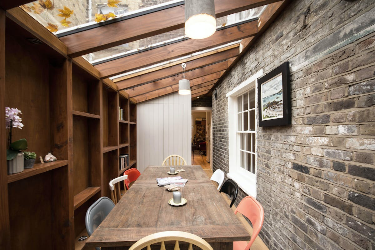 The Timber Frame Extension Yard Architects Archinect