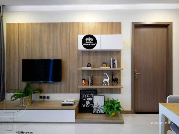 Thiết kế nội thất chung cư 70m2. Ảnh 2
