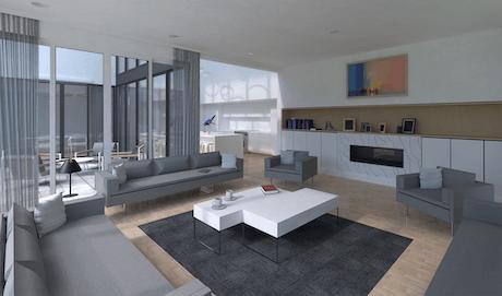 Interior rendering (Revit Vray)
