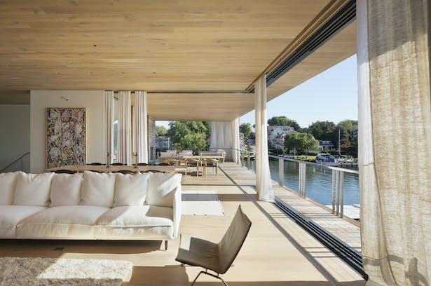 Designed by: Bates Masi + Architects Photo Credit: Michael Moran