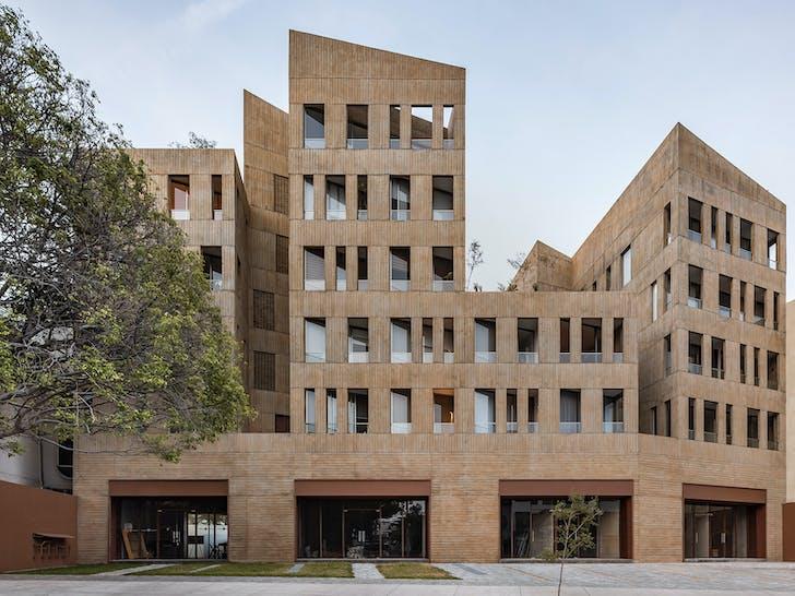Mexico City-based architects may take up the international spotlight, but Guadalajara's design scene is second to none. Shown: Edificio Gonzáles Luna, designed by Estudio Macías Peredo. Image courtesy of César Béjar.