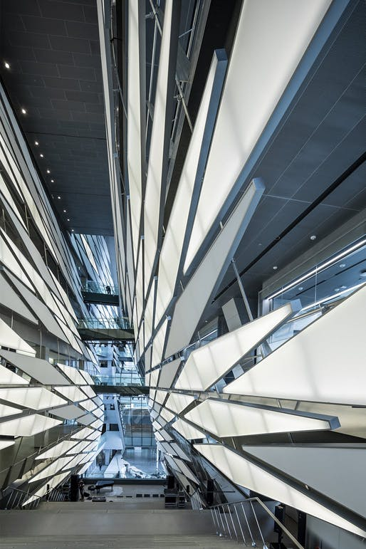The Kolon Group facility in Seoul by Morphosis. Photo: Jasmine Park, courtesy of Morphosis.