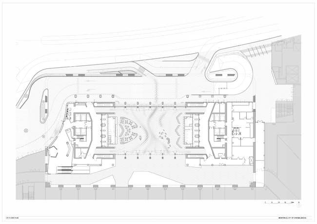 Morpheus Macau, site plan.