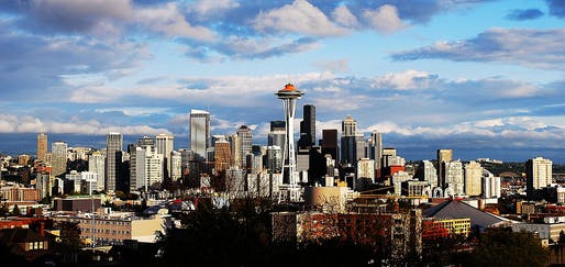 The Seattle skyline may soon have a new shape. via Flickr