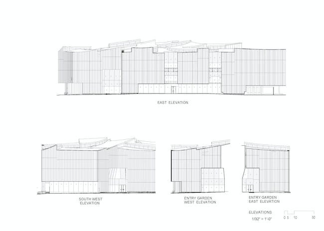Drawing courtesy of Steven Holl Architects.